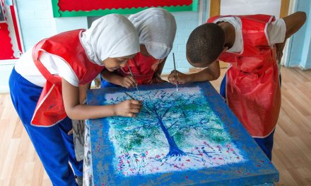 A fantastic Ramadan art project for the school