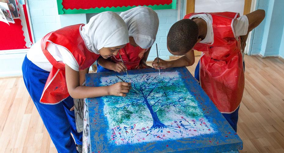 A fantastic Ramadan art project for the school