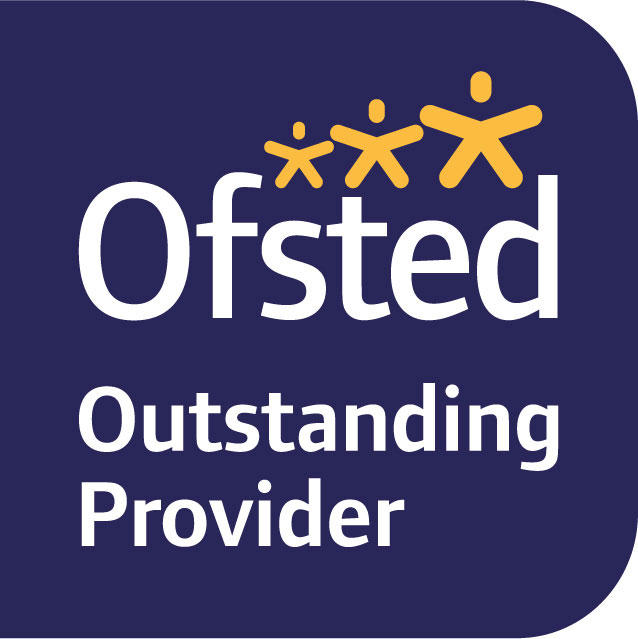 Colour Outstanding Ofsted logo