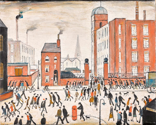 Painting by LS Lowry.