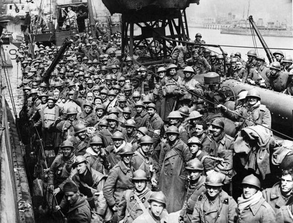 World War 2 Dunkirk evacuation.