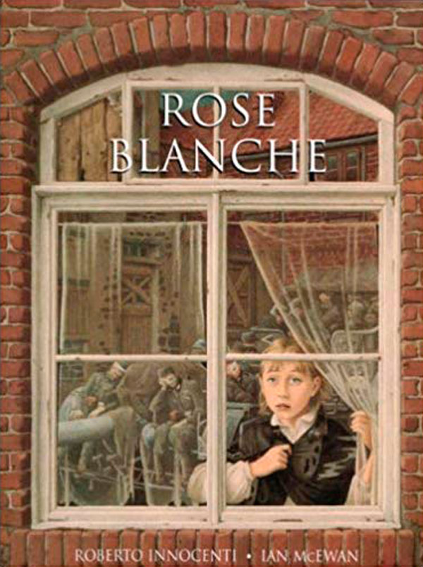 Rose Blanche book cover