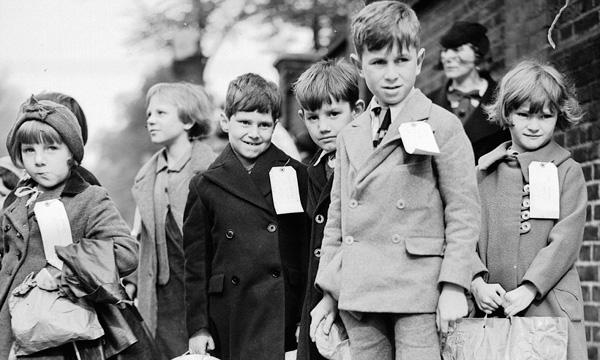 World War 2 Blitz children.