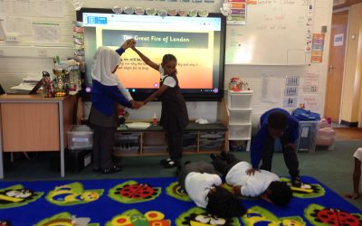 Our Great Fire of London role play