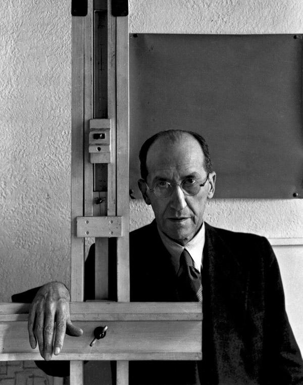 The artist Mondrian.