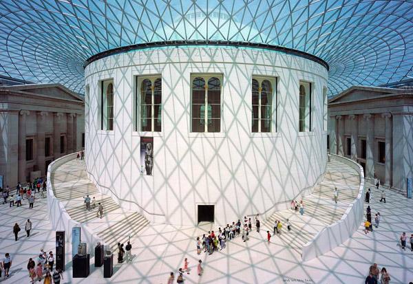 Interior of the British Museum.