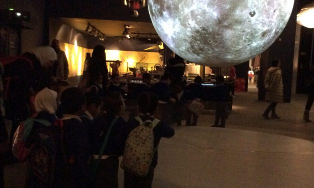 Reception at the Science Museum!