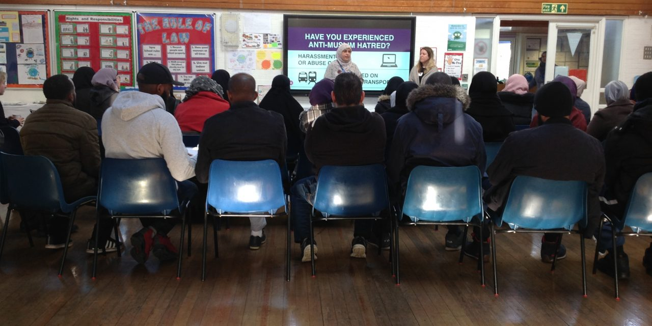 Islamaphobia Talk During Coffee Morning