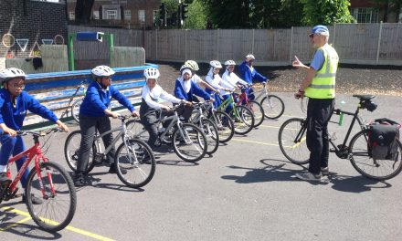 Year 6 Cyclists